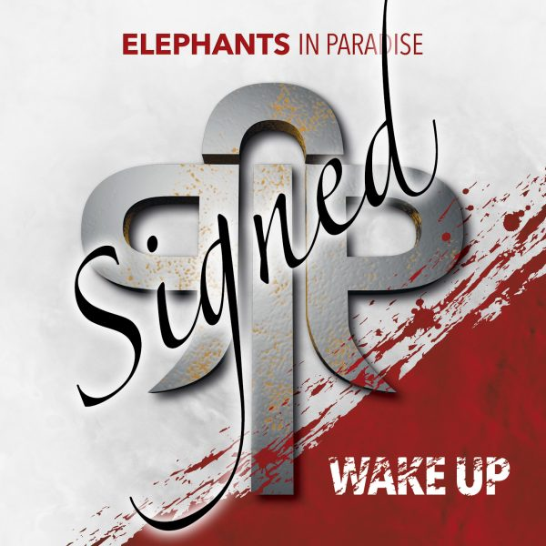 Elephants in Paradise WakeUp Cover signed