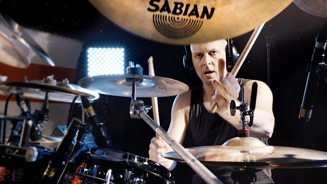 Malleo on drums